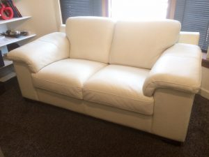 Italian Designer Leather Suite Refurb