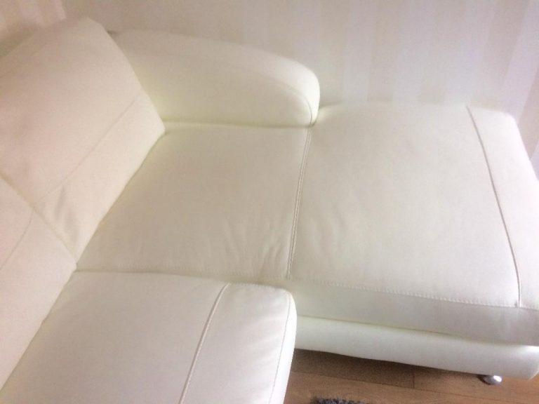 White Chaise Longue Refurb