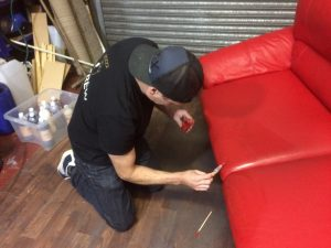 Leather Sofa Restoration Video